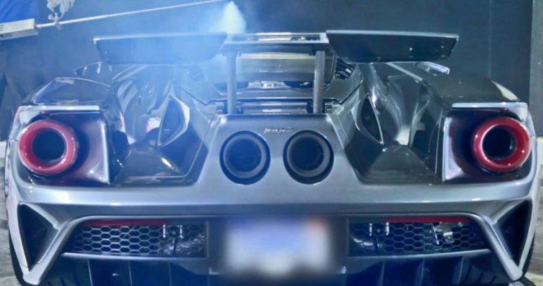 شاهد فورد GT الجديدة في نفق الرياح