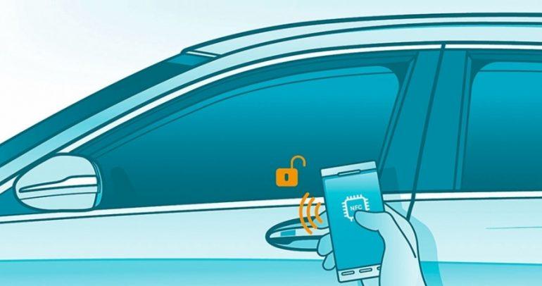 تفكير جديد: إفتح المرسيدس من هاتفك مع مفتاح ذكي ظاهري