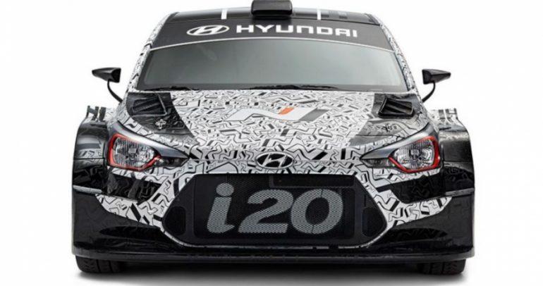 هيونداي I20 WRC طراز 2017 في باريس (فيديو)