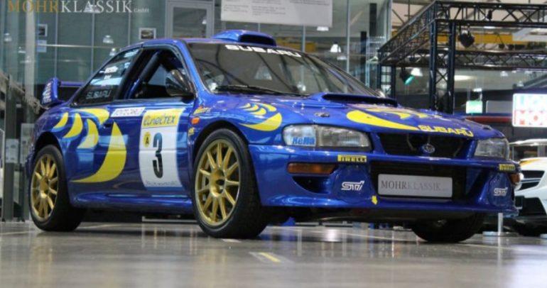 سيارة كولن مكراي للبيع: سوبارو امبريزا WRC طراز 1997