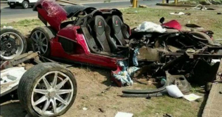 حادث غير قابل للإصلاح تتلقاه سيارة نادرة أخرى