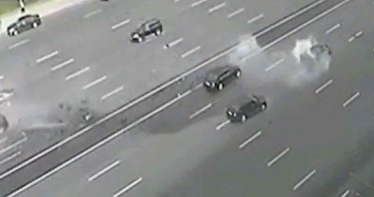 فيديو: حادث مؤسف جدا لسائق فلاديمير بوتين المفضل
