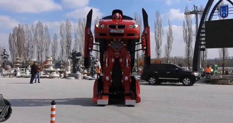 شركة تركية تبني Transformer حقيقي من بي ام دبليو الفئة 3 (فيديو)