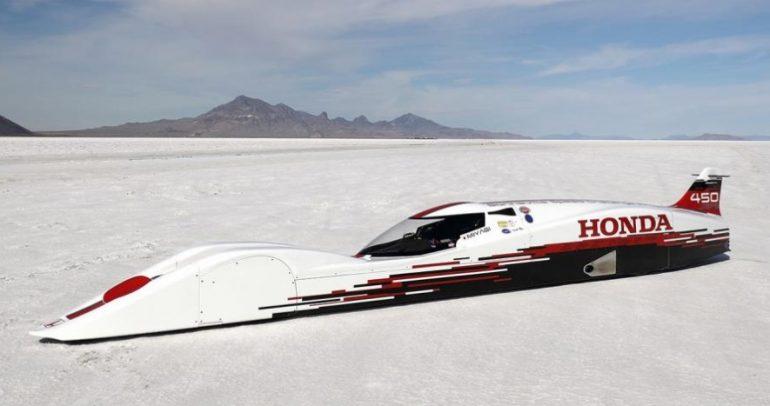 أسرع هوندا في العالم مزودة بمحرك ٣ أسطوانات