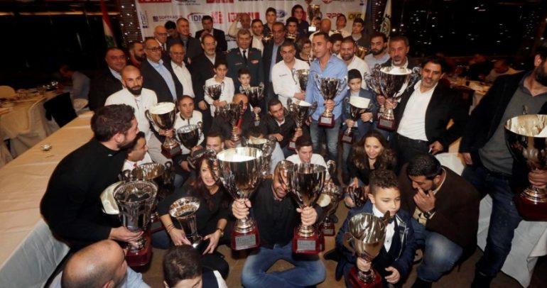 نادي الكسليك يوزّع الجوائز على ابطال الرياضة الميكانيكية