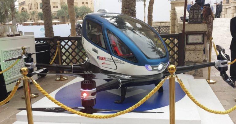 دبي تأمل بإطلاق خدمة مركبات تاكسي ذاتية التحليق الصيف المقبل