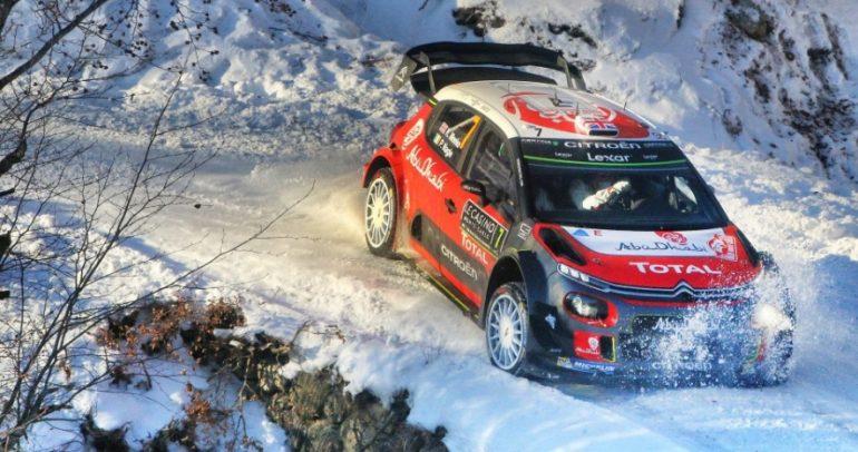 فريق أبوظبي العالمي يشارك بسيارتي C3 WRC في رالي السويد