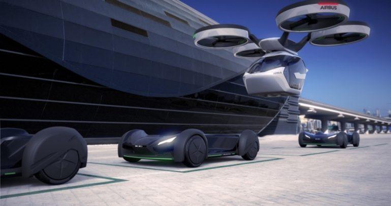 شركة Italdesign وايرباص تطلقان مفهوم القمرة الملائمة للطيران