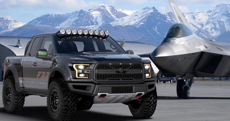 شاحنة تبدو وكأنها جاهزة للطيران!