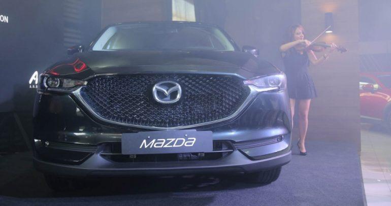 الكشف عن أحدث وأفضل طراز من مازدا: سيارةCX-5