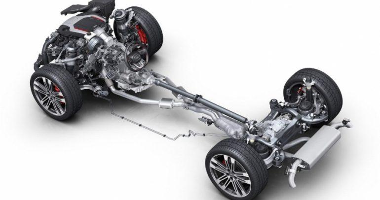 تطور لافت جدا داخل محرك أودي V6 الجديد