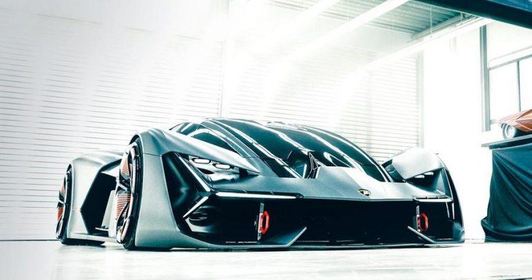مفهوم سيارة لامبورجيني تيرزو ميلينيو الجديد
