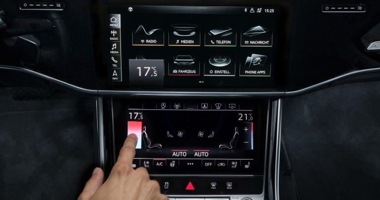 تكنولوجيا القيادة الذاتية من اودي A8 تصل إلى دبي