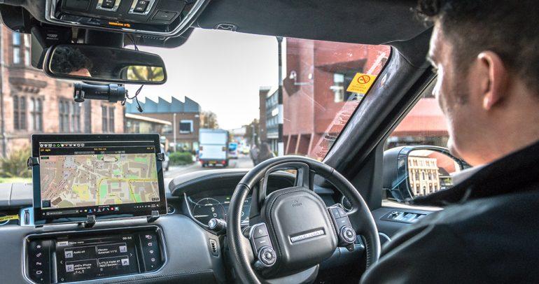 جاكوار لاند روفر تبدأ بإختبار المركبات المستقلة القيادة في المملكة المتحدة