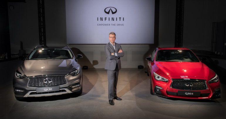 سيارتان جديدتان من انفينيتي ومفاجأة ثالثة في معرض دبي للسيارات