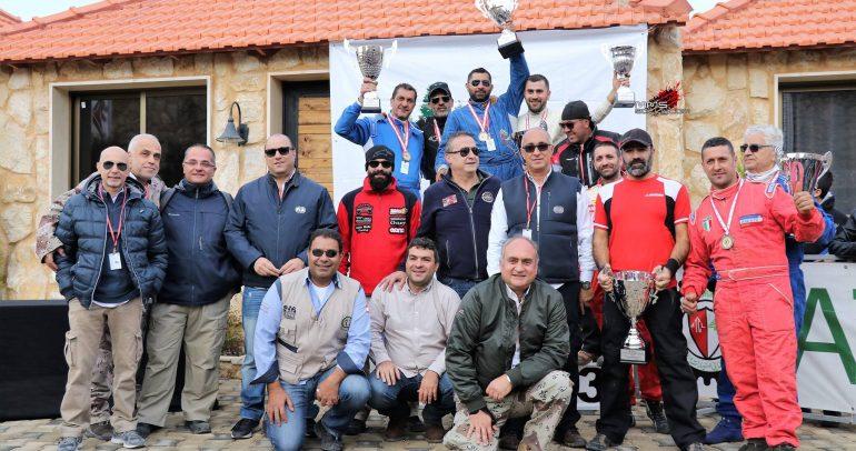 طوني جلبوط يتصدر سباق كريتيريوم لبنان الـ31 لمركبات الدفع الرباعي