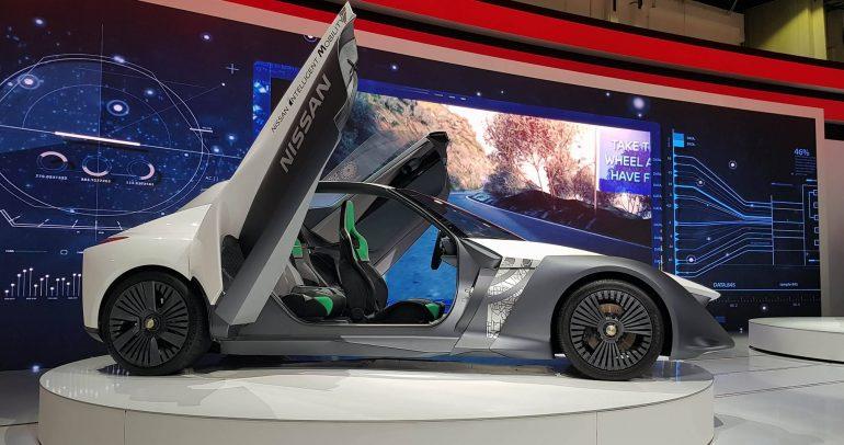 أحدث ابتكارات شركة نيسان في مجال السيارات الكهربائية