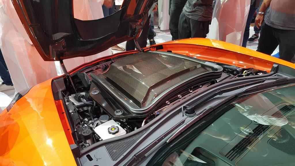 محرك شيفروليه كورفيت ZR1 لعام 2019: