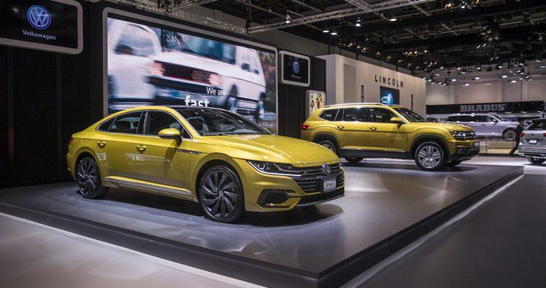 فولكس واجن تدشن تيرامونت وارتيون في معرض دبي للسيارات