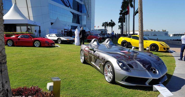 بالصور: سيارات نادرة يتم عرضها للمرة الأولى في العالم ضمن جلف كونكورس 2017