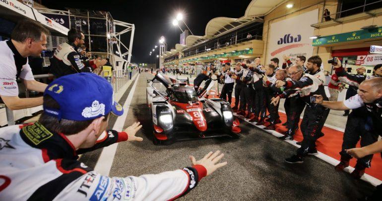 رقم قياسي جديد لفريق تويوتا في بطولة العالم للتحمل في البحرين