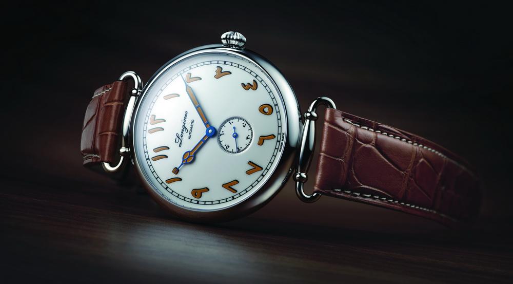 ساعة خاصة بالشرق الأوسط من لونجين