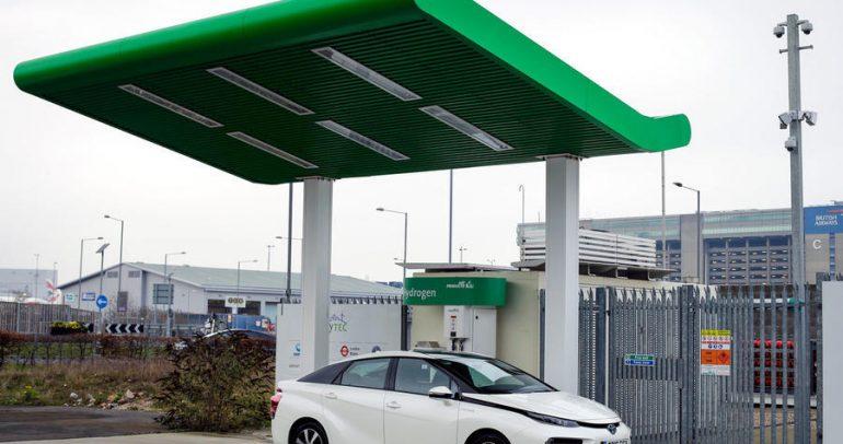 أول محطة في العالم لتوليد وقود الهيدروجين من النفايات!