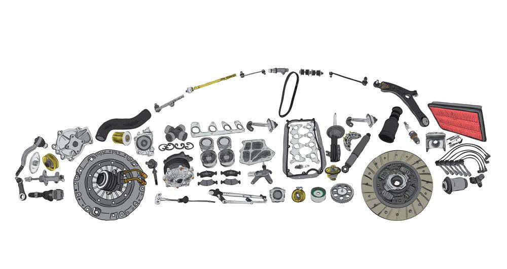 دراسة جدوى مصنع قطع غيار سيارات