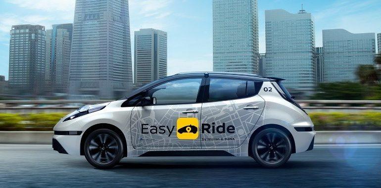 خدمة التنقل Easy Ride من نيسان