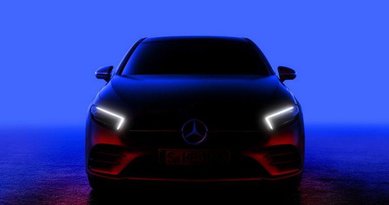 شاهدوا الظهور الأول لسيارة مرسيدس الفئة A الجديدة