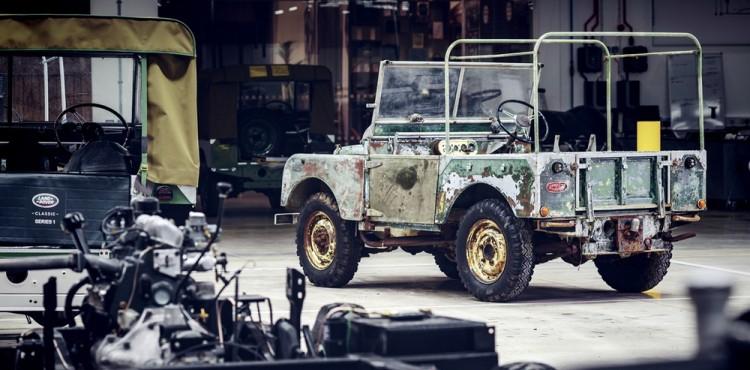 شركة لاند روفر تجد سيارة بقيت مفقودة طيلة 63 عاما