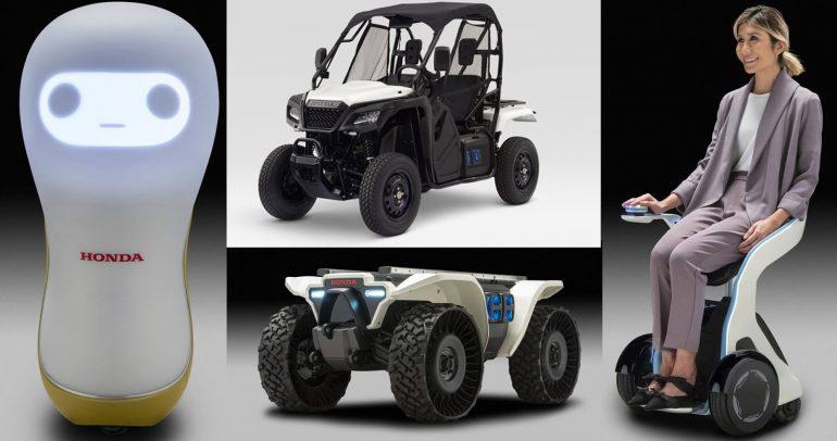 هوندا تكشف عن 5 نماذج تكنولوجية في معرض CES 2018