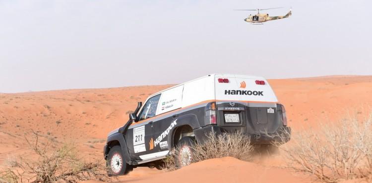 فريق هنكوك السعودي يشارك بقوة في رالي حائل 2018