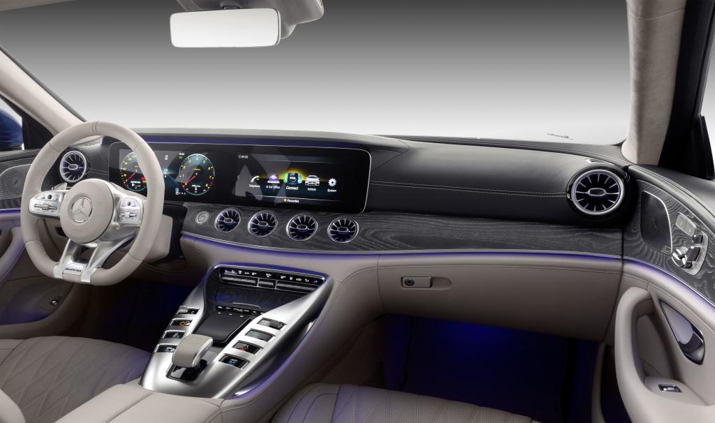 مرسيذس AMG GT أربع أبواب