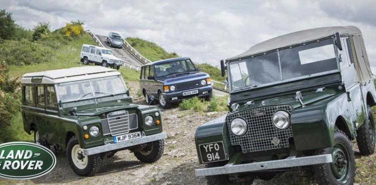 أهم سيارات لاند روفر خلال 70 سنة