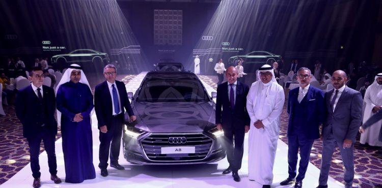 أودي A8 L الجديدة بالكامل تصل إلى الأسواق السعودية