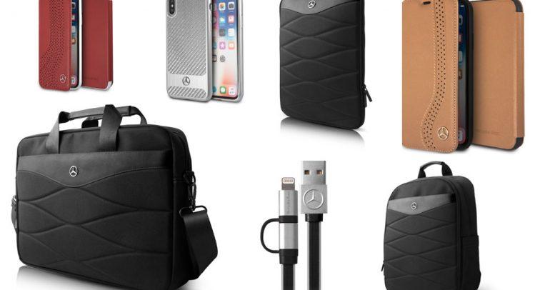 أكسسوارات مميزة من مرسيدس للهواتف الذكية والحقائب