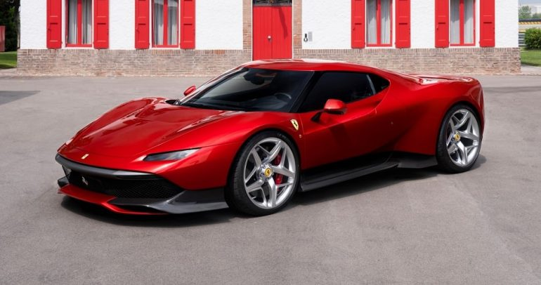 """فيراري تنتج سيارة """" فيراري SP38 """" حصرية لأحد المحظوظين"""
