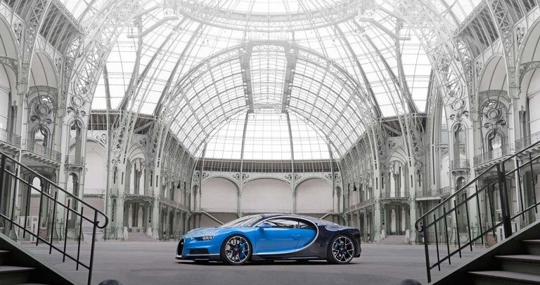 بوجاتي تنتج النسخة رقم 100 من سيارة شيرون