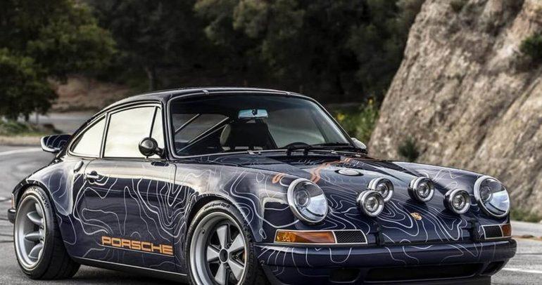 إعادة تصميم مميزة لإحدى سيارات بورش الكلاسيكية
