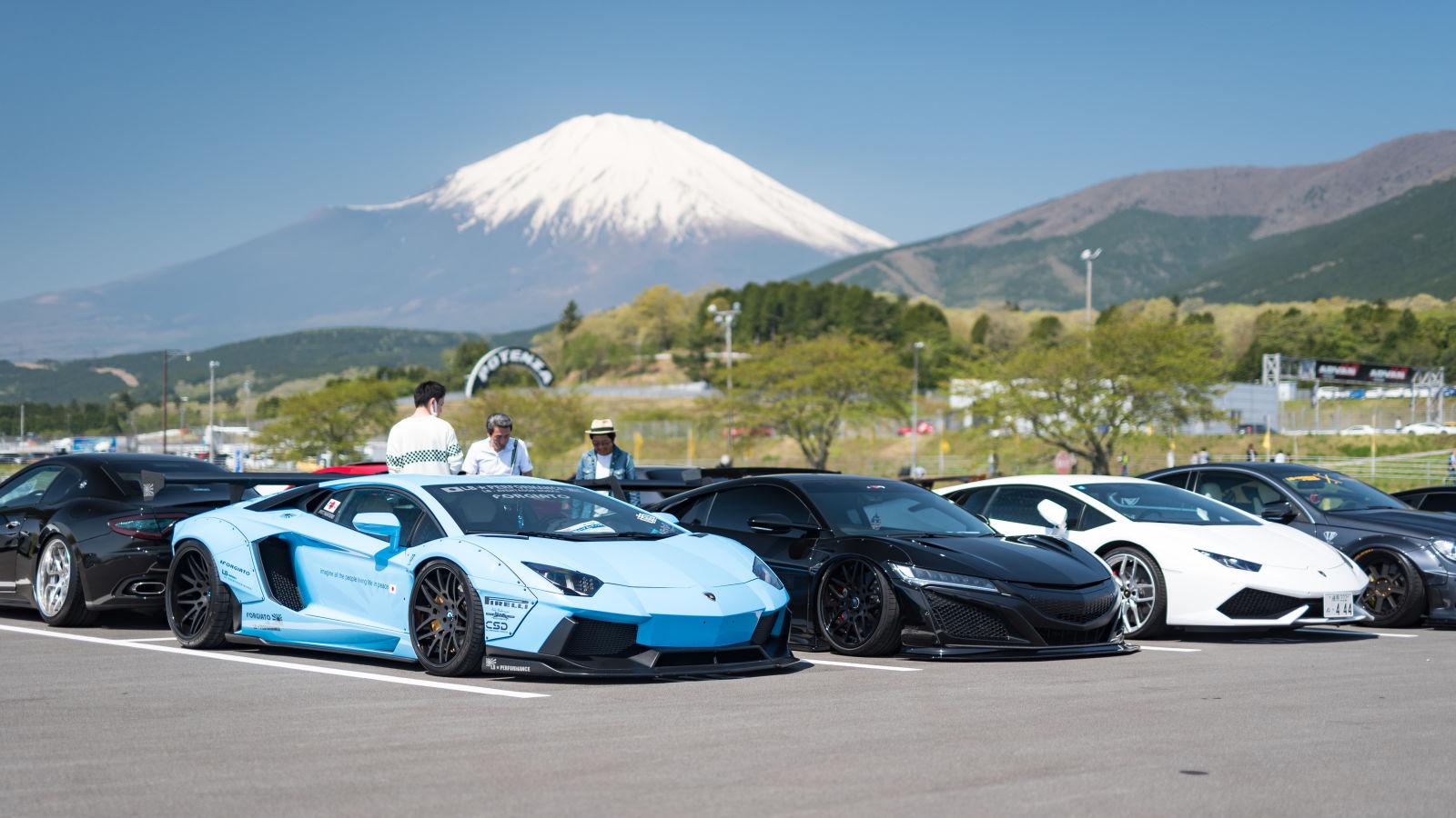 مهرجانات السيارات في اليابان