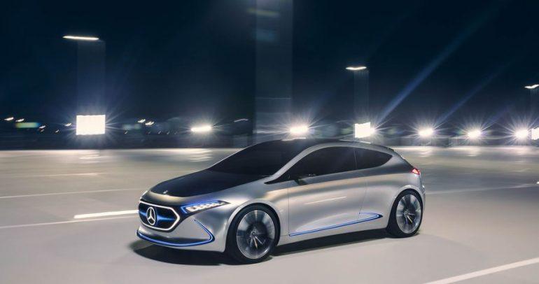 مرسيدس-بنز توسع عائلة السيارات الكهربائية لديها