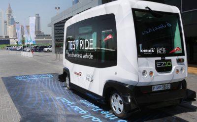 جوائز ضخمة يقدمها تحدي دبي العالمي للتنقل ذاتي القيادة