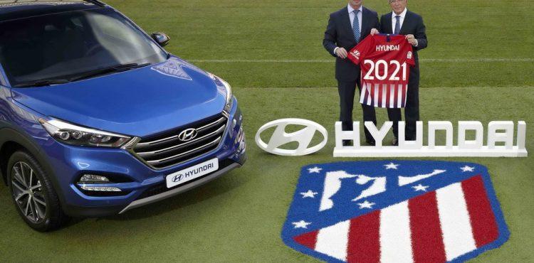 شراكة عالمية بين شركة هيونداي ونادي أتليتيكو مدريد الإسباني