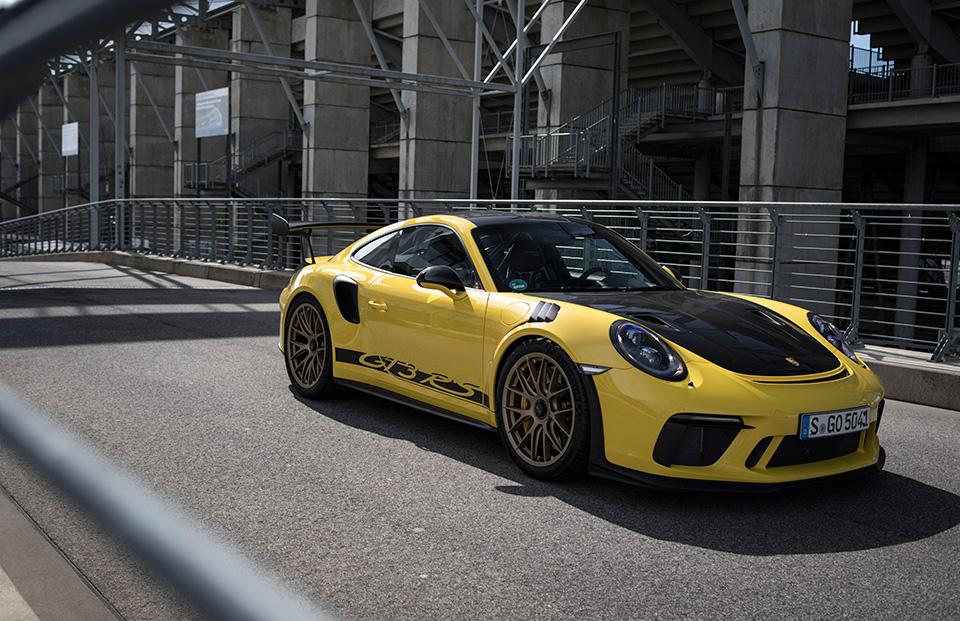 تجربة بورشه 911 GT3 RS