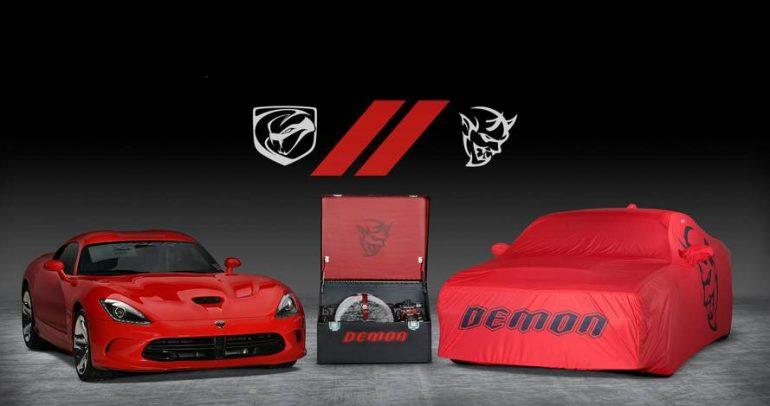 مليون دولار سعر آخر سيارتين من طرازي دودج فايبر وتشالنجر ديمون