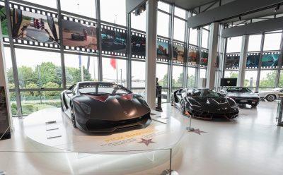 سيارات لامبورجيني في الأفلام