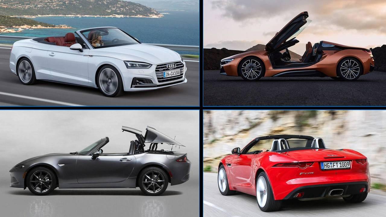 أسرع 11 سيارة مكشوفة في فتح السقف عالم السيارات