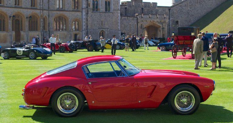 فيراري 250 GT تحصل على دفعة اضافية من القوة بسبب تغيير زيت المحرك