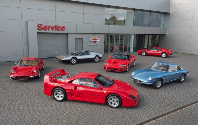فيراري كلاسيتش تؤمن خدمة مميزة للسيارات الكلاسيكية